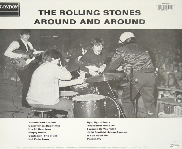 "Rolling Stones Around And Around Holland 12"" Vinyl Lp"