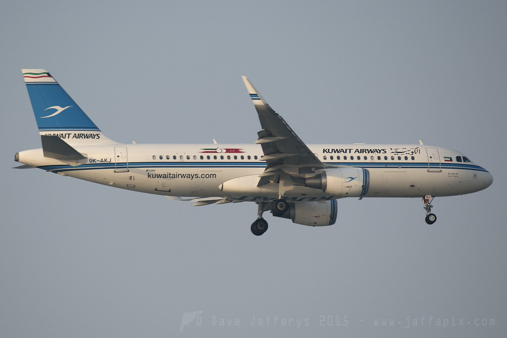 9K-AKJ - A320 - Kuwait Airways