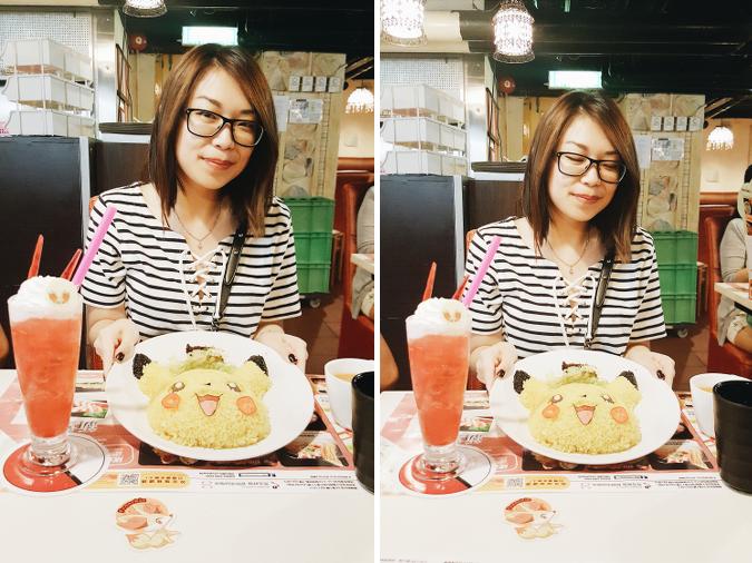 Daisybutter - Hong Kong Lifestyle and Fashion Blog: Pokemon x Satay King, Pikachu rice, kawaii food, Pokemon bento ideas, Pokemon cafe