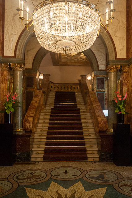 Lobby in Hotel Russell, London