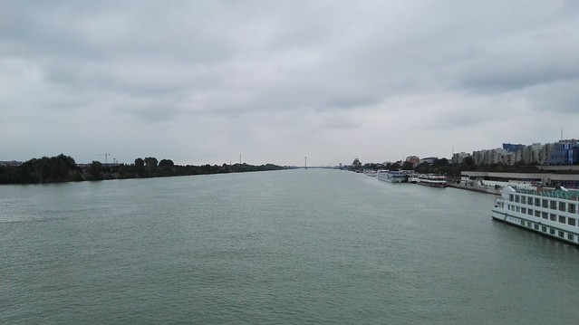 Blick auf die Donau (stromabwärts)
