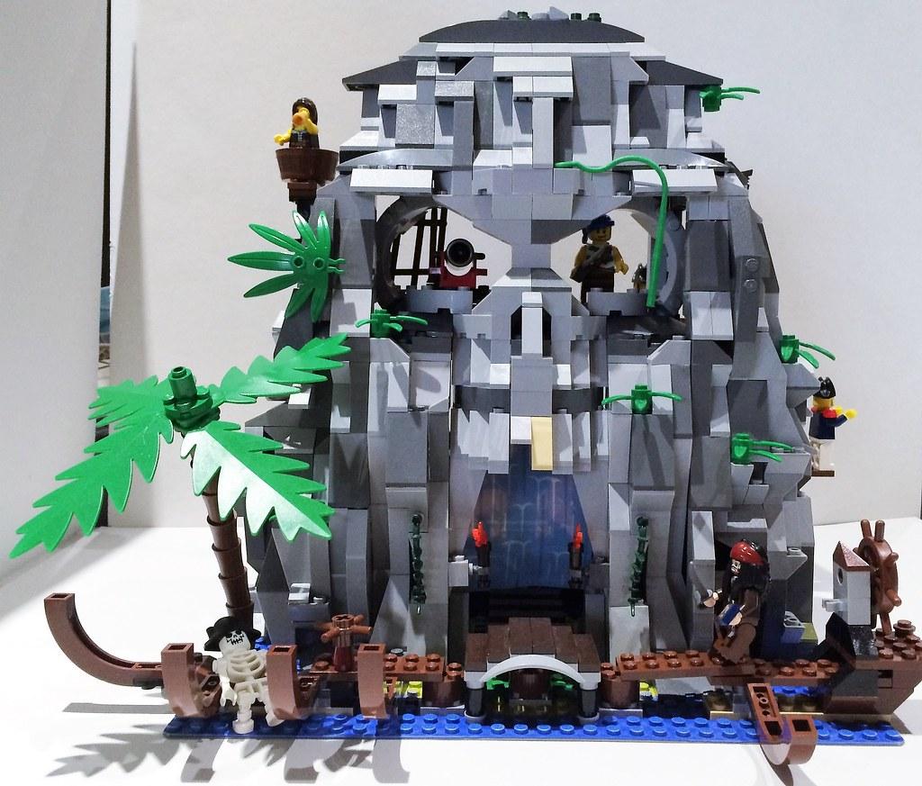 Afficher le sujet moc bp challenge l 39 le myst rieuse - Ile pirate lego ...