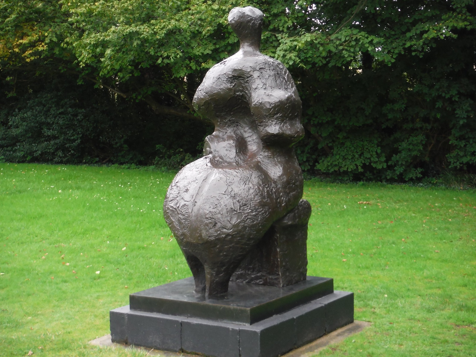 Seated Woman (1958-59) SWC Walk 164 Roydon to Sawbridgeworth via Henry Moore Foundation