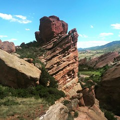 Red Rocks, Denver, Colorado.