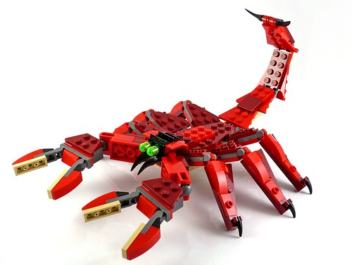 LEGO Creator 31032 Red Creatures 13