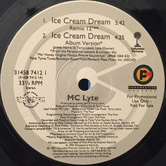 MC LYTE:ICE CREAM DREAM(LABEL SIDE-A)