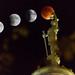 Super Moon Lunar Eclipse over Cortland, NY