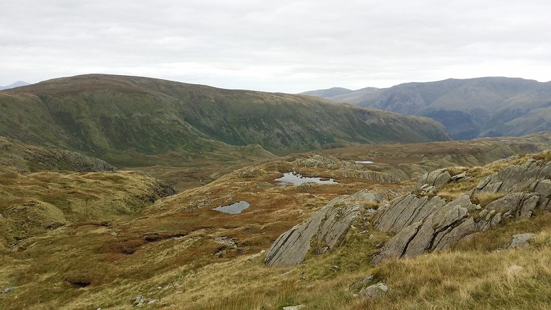 Tarns on Tarn Crag