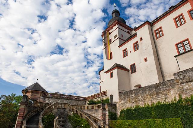 Fortress Marienberg. Würzburg, Germany