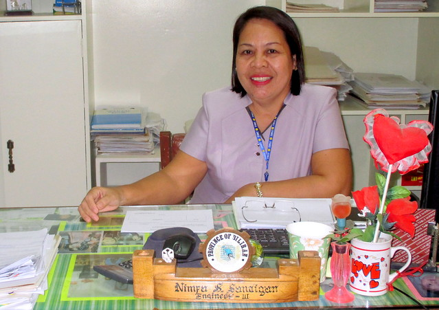 Municipal Engineer Nimfa S. Sandigan