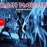 IRON MAIDEN Rainmaker / Dance of Death Blue Vinyl