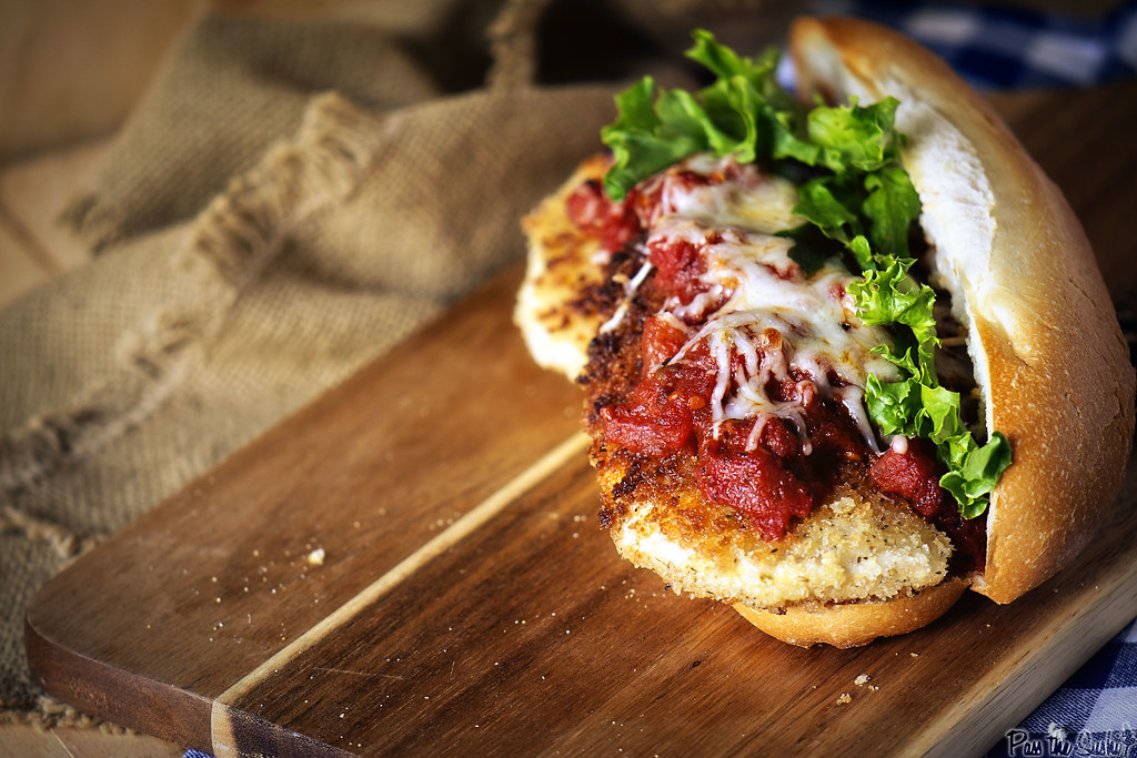 Chicken Parmesan Subs | GirlCarnivore.com