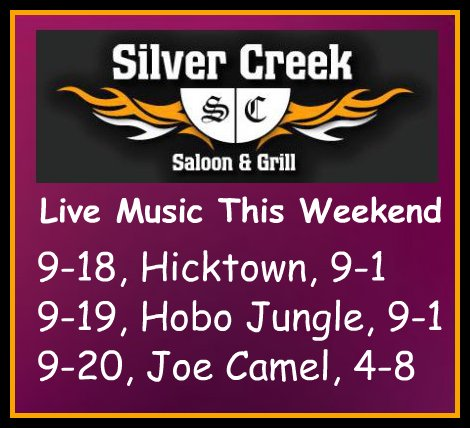 Silver Creek Poster 9-18 thru 9-20-15