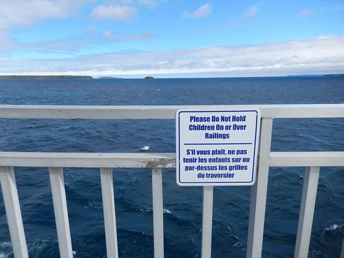 Ferry naar Manitoulin Island - duh