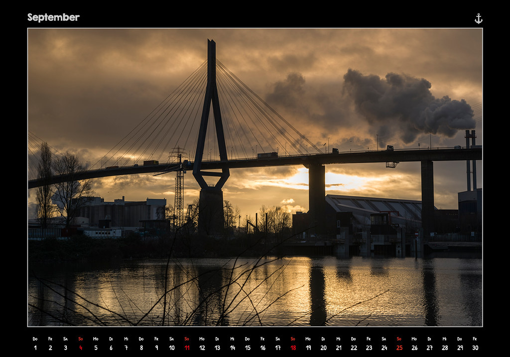 kalender2016_HAMBURG 2016 - FROM DUSK TILL DAWN - KALENDER // SEPTEMBER