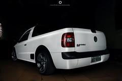 Saveiro MKV + Rép.3SDM wheels 17x8...bagged in progress...