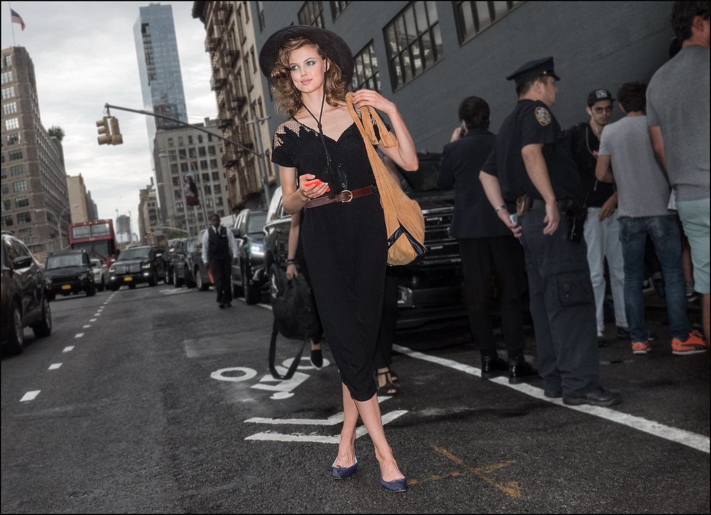 Lindsey Wixson after DVF show NYFW 9-2015