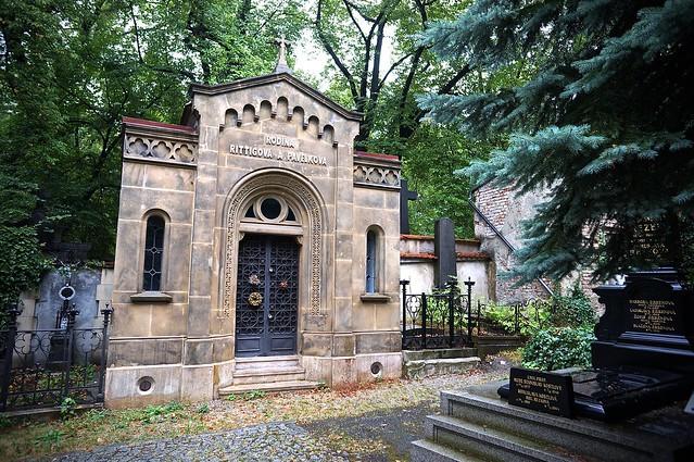 Прага. Олша́нское кла́дбище