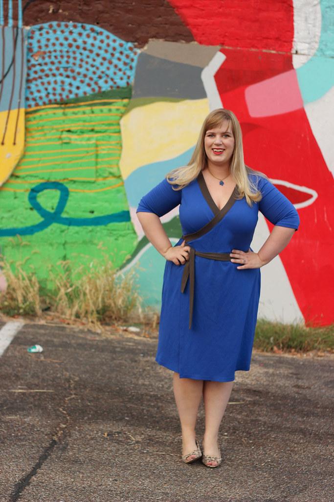Idle Fancy - Appleton Dress - Cashmerette Patterns - Blue Jersey-0446