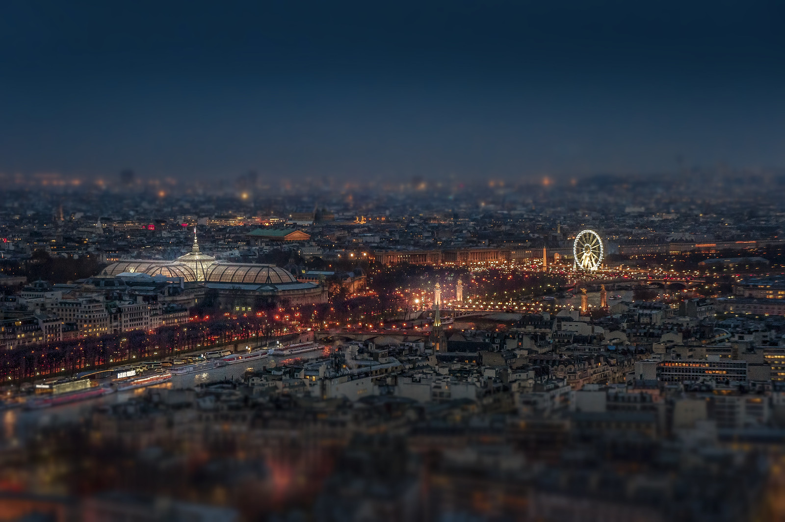 Paris seen from Eiffel Tower