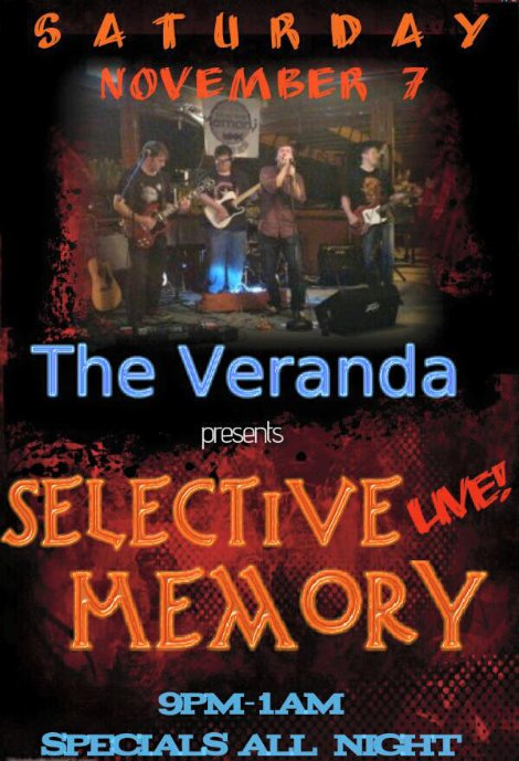 Selective Memory 11-7-15