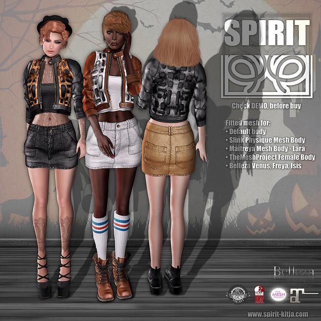 SPIRIT - Pumpkin outfit