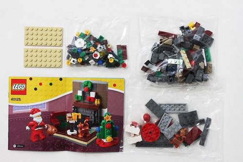LEGO Seasonal Santa's Visit (40125)