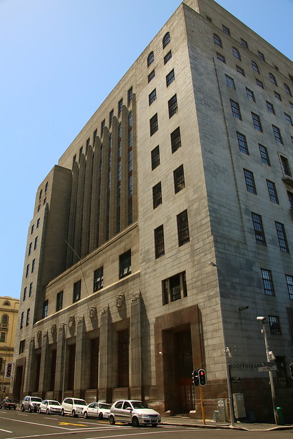The South African Mutual Life Insurance Society Building.