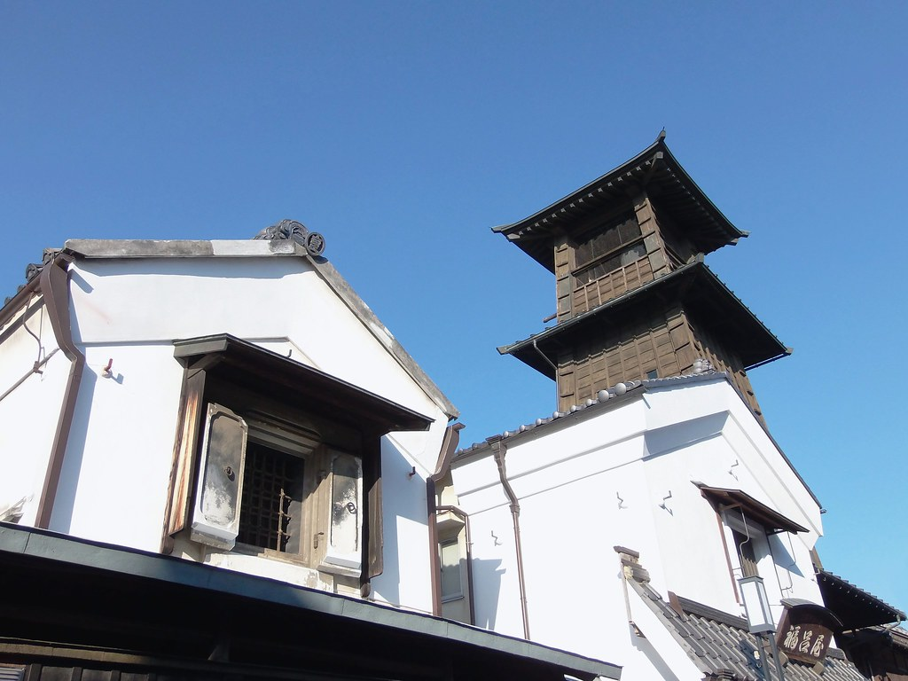 #4777 bell tower (時の鐘) and storehouse (蔵)