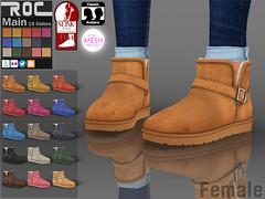 ::ROC:: Snow Boots Low (female)