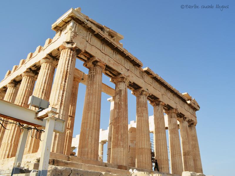 Vista del Partenón