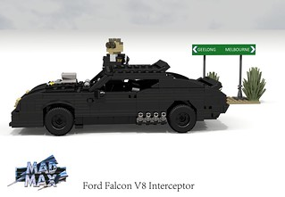 Ford Falcon XB Interceptor (Mad Max)
