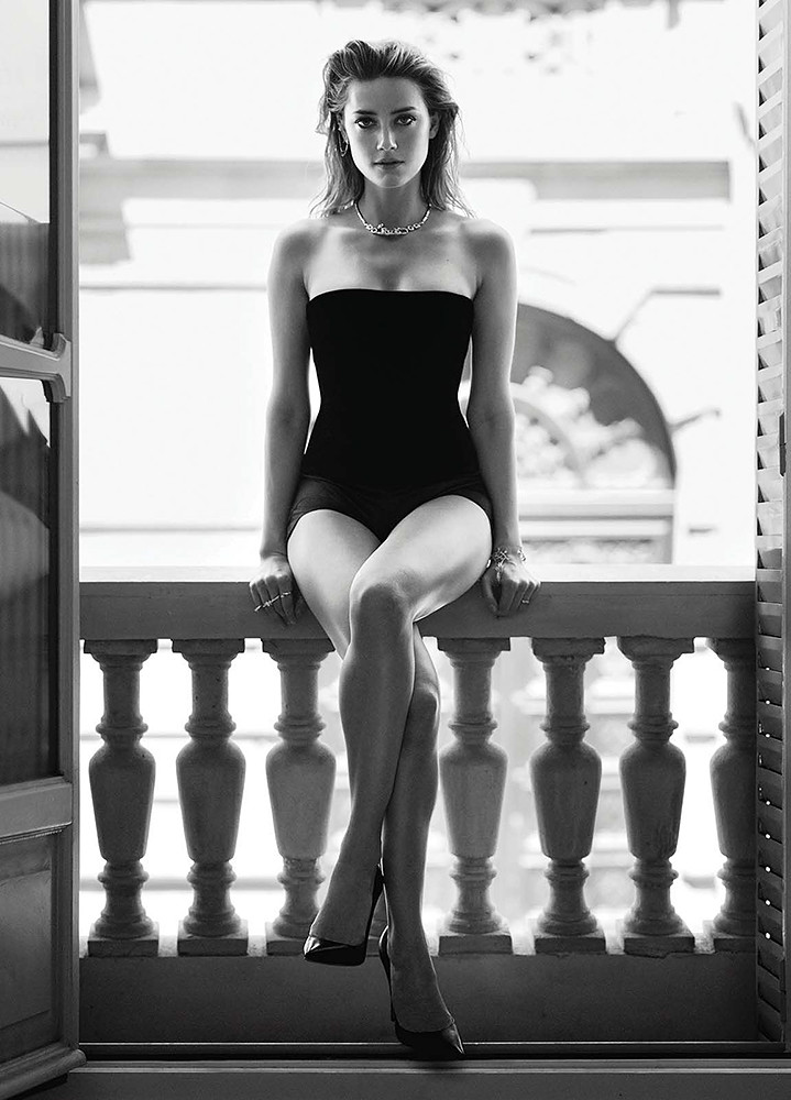 Эмбер Хёрд — Фотосессия для «Marie Claire» 2015 – 5