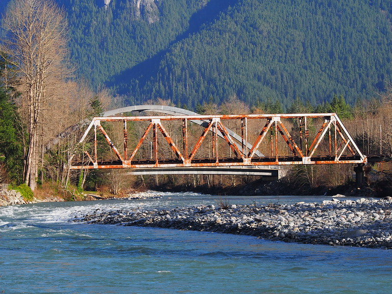 North Fork Skykomish River Bridges