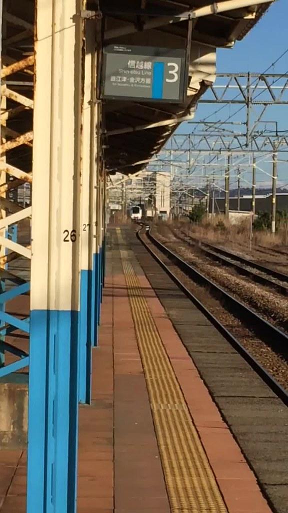 Shirayuki Limited Express in Kashiwazaki st
