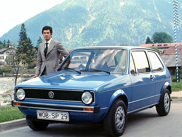 Трехдверный Volkswagen Golf (Typ 17). 1974 – 1983 годы