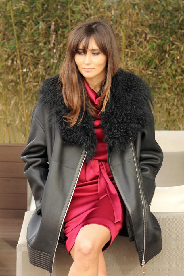 escarda red dress coohuco 5