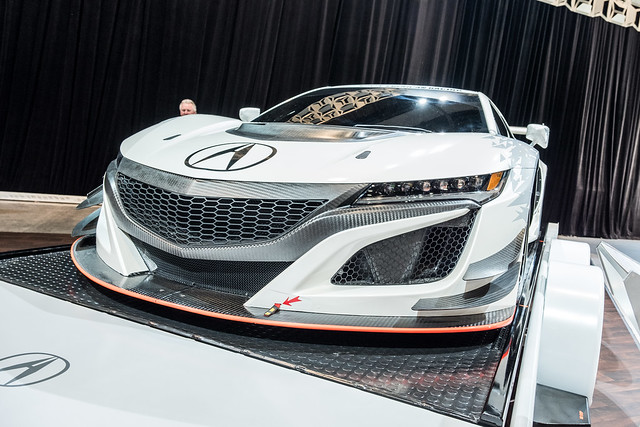 Acura NSX GT3 at SEMA 2016