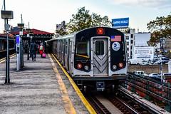MTA New York City Subway Kawasaki R160B #8852