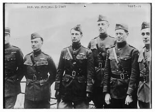 Gen. Wm. Mitchell & staff (LOC)