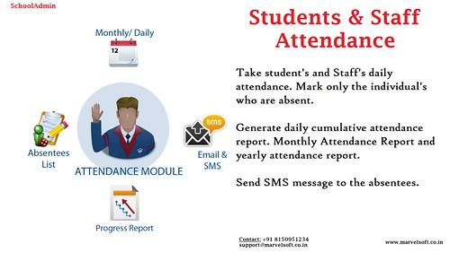 SchoolAdmin - AttendanceModule