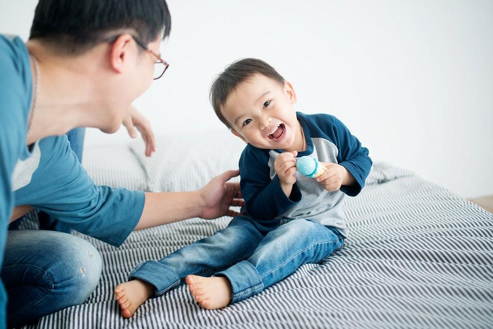 愛情光合 100%笑顏  親子寫真