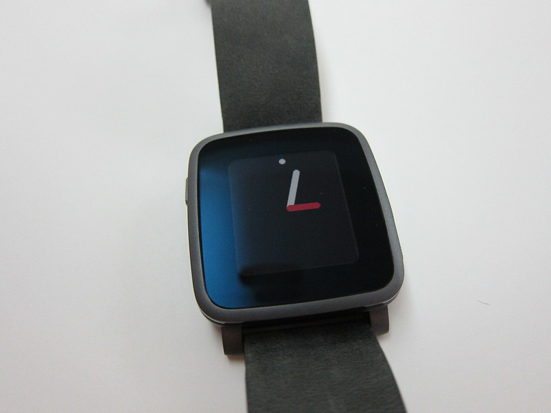 Pebble Time Steel Watch - Default Clockface