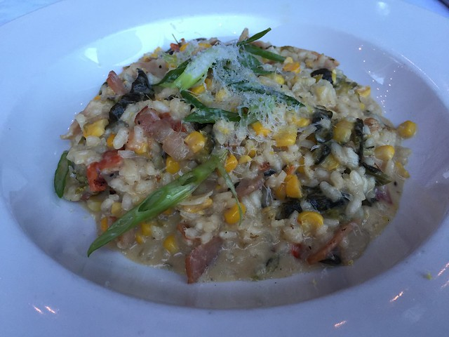 Roasted corn risotto - Tinderbox Kitchen