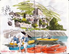 150815 gorges du Tarn - Photo of Sainte-Enimie