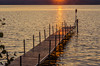 Lake Leenanau, Michigan, sunset and peace