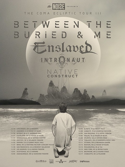 Between The Buried And Me at Baltimore Soundstage