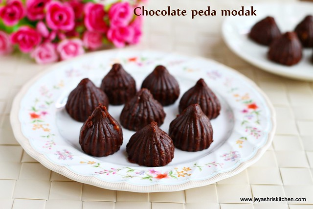 Chocolate peda -modak