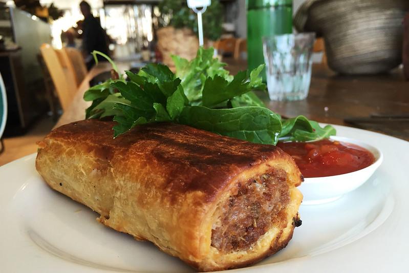 Sausage roll: Simmone Logue