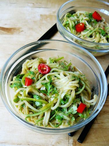 Cucumber noodles